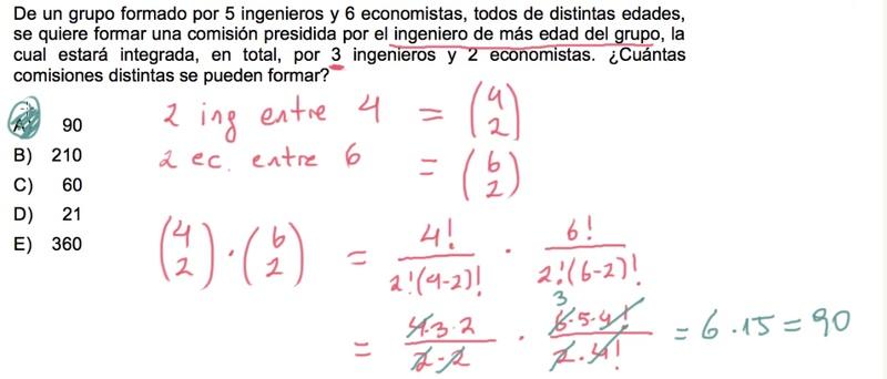 Duda básica pero relevante. ¿Por qué se multiplica 4 sobre 2 con 6 sobre 2 y no se suman (como supuse que se hacía, dándome 21)? Gracias de antemano