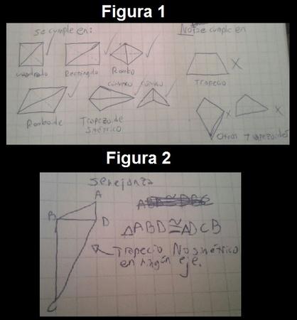 Profe para identificar si al trazar una diagonal en un cuadrilátero se forman dos triángulos congruentes o semejantes es necesario aprenderse las propiedades todos los cuadriláteros?