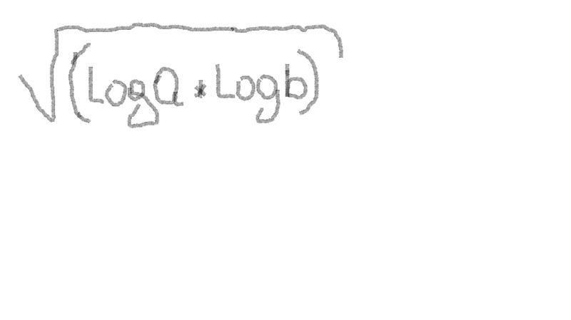 Cabe la posibilidad de que pidan sacar el valor de la raíz n-cima del producto de dos logaritmos?