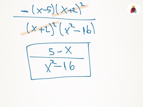 Fracciones algebraicas. Ayuda!