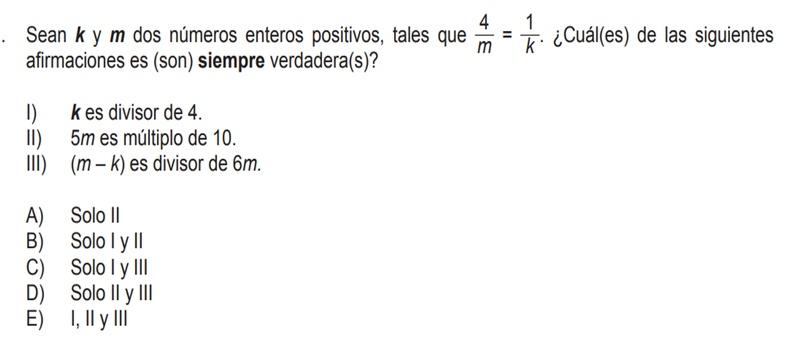 Ayuda, no sé como resolverlo;( Debe darme la alternativa D)