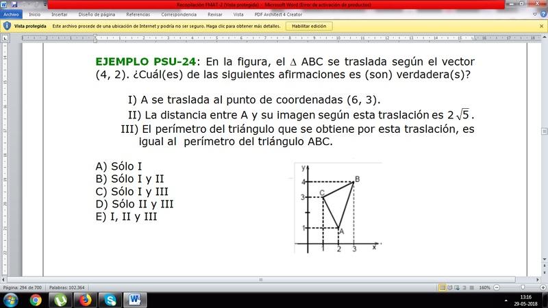 Transformaciones isometricas: Me pierdo en la II) No sé cómo llegar al 2 raíz de 5. Ayuda please