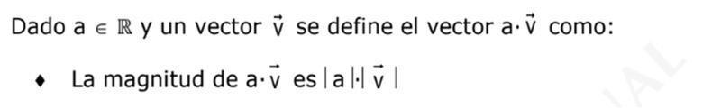 Con respecto a la ponderacion con un escalar en vectores, me aparece la propiedad de la imagen, la cual no entiendo:( solo esas rayitas que tienen que ver con valor absoluto, pero mas de ahi no comprendo como se utiliza o algo
