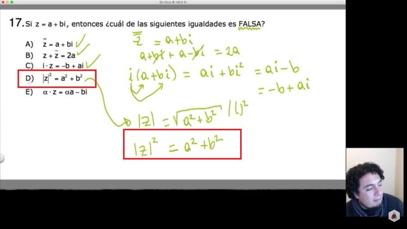 En esta no debería ser a^2 + bi^2