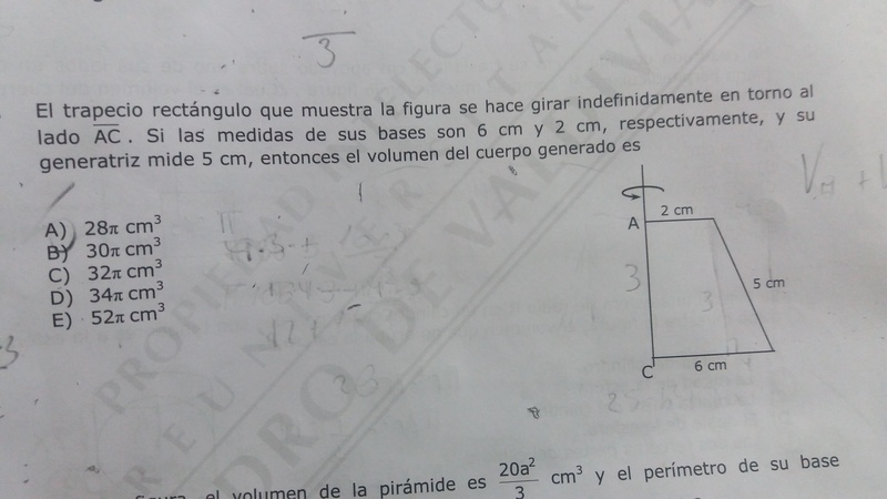 La respuesta es la E por favor